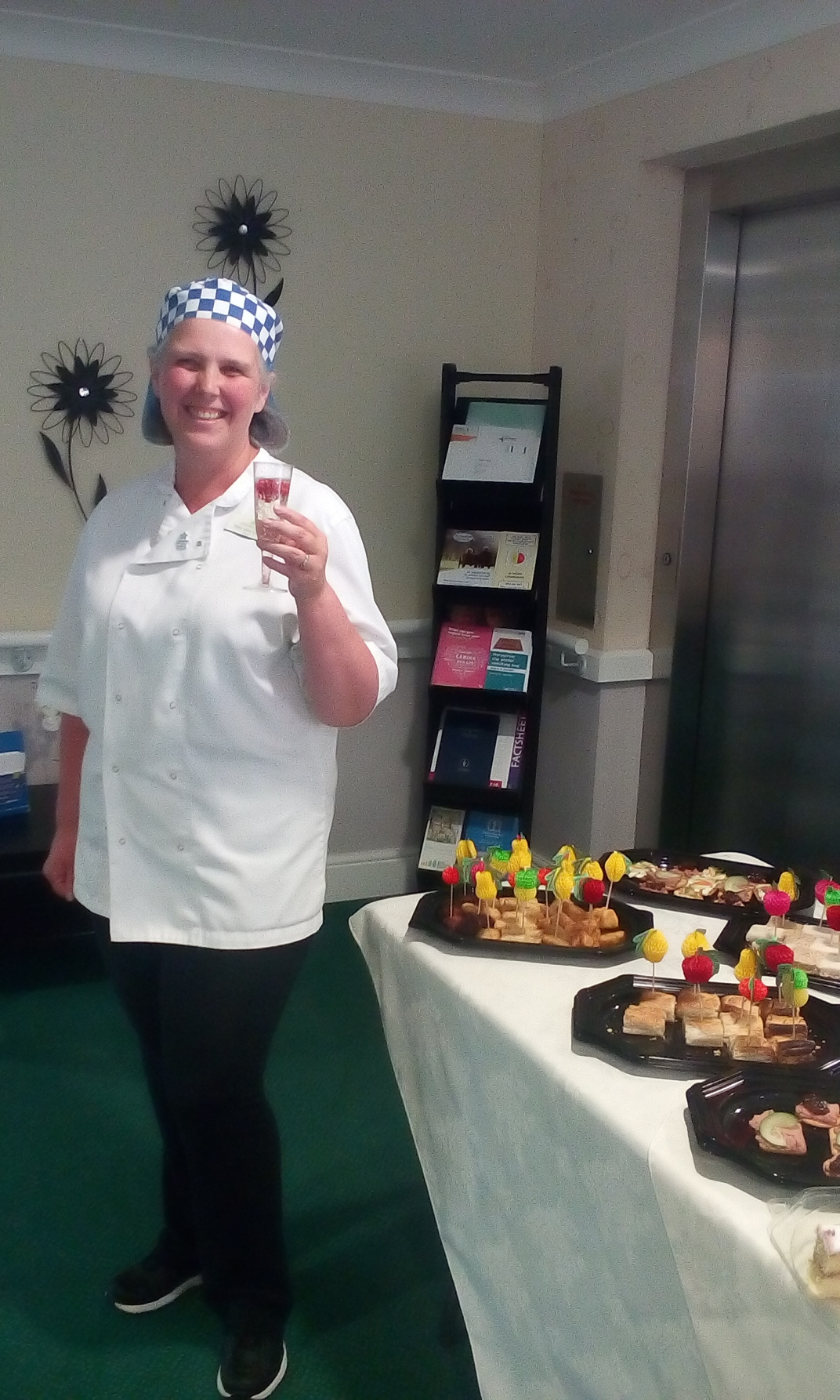 Champagne and Canapes at Beechwood